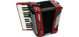 HOHNER BRAVO II 48 RED