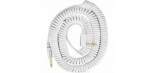 VOX VINTAGE COILED CABLE WHITE
