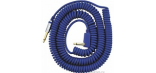 VOX VINTAGE COILED CABLE BLUE