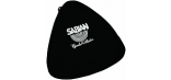 SABIAN BLACK ZIPPERED TRIANGLE BAG 6