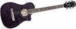 FENDER T-BUCKET 200 CE TRANSPARENT BLACK FISHMAN ISYS III PREAMP W/TUNER