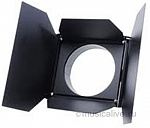 ETC FRESNEL BARNDOOR, SHORT, BLACK