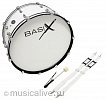Бас барабаны BASIX MARCHING BASS DRUM 24x12