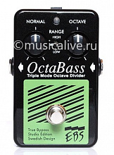 EBS OCTABASS TRIPLE MODE OCTAVE DIVIDER STUDIO EDITION