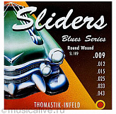 THOMASTIK SL109 BLUES SLIDERS