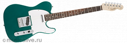 FENDER SQUIER AFFINITY SERIES TELECASTER ROSEWOOD FINGERBOARD RACE GREEN