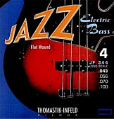 THOMASTIK JR344 JAZZ ROUND WOUND