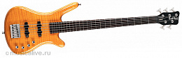 Бас-гитара ROCKBASS CORVETTE PREMIUM 5 ACTIVE NATURAL HIGHGLOSS