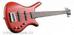 Бас-гитара ROCKBASS CORVETTE BASIC 5 BURGUNDY HIGHPOLISH