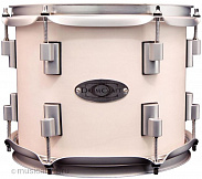 DRUMCRAFT SERIES 8 VENICE WHITE SATIN CHROME HW